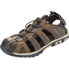 Hi-Tec Cove Breeze Sandals Men chocolate/brown/burnt orange